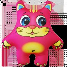 Кот цветной 16*14 см